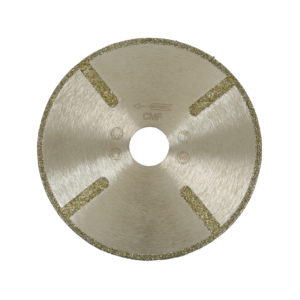 Electroplated blade thats suitable for Marble and Limestone