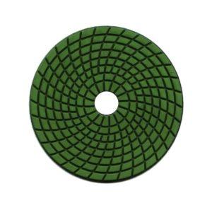 Green Velcro backed