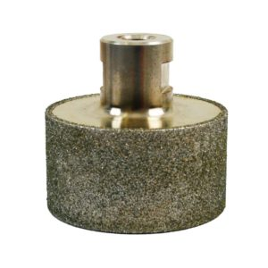 For smoothing and shaping internal holes marble & reckon stone
